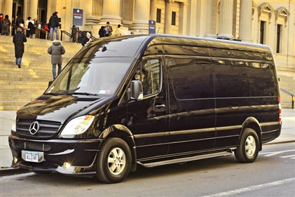 All Star Limo Mercedes G5 Sprinter