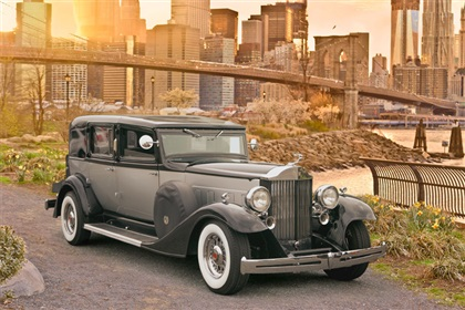 The Black 1933 Presidential Packard
