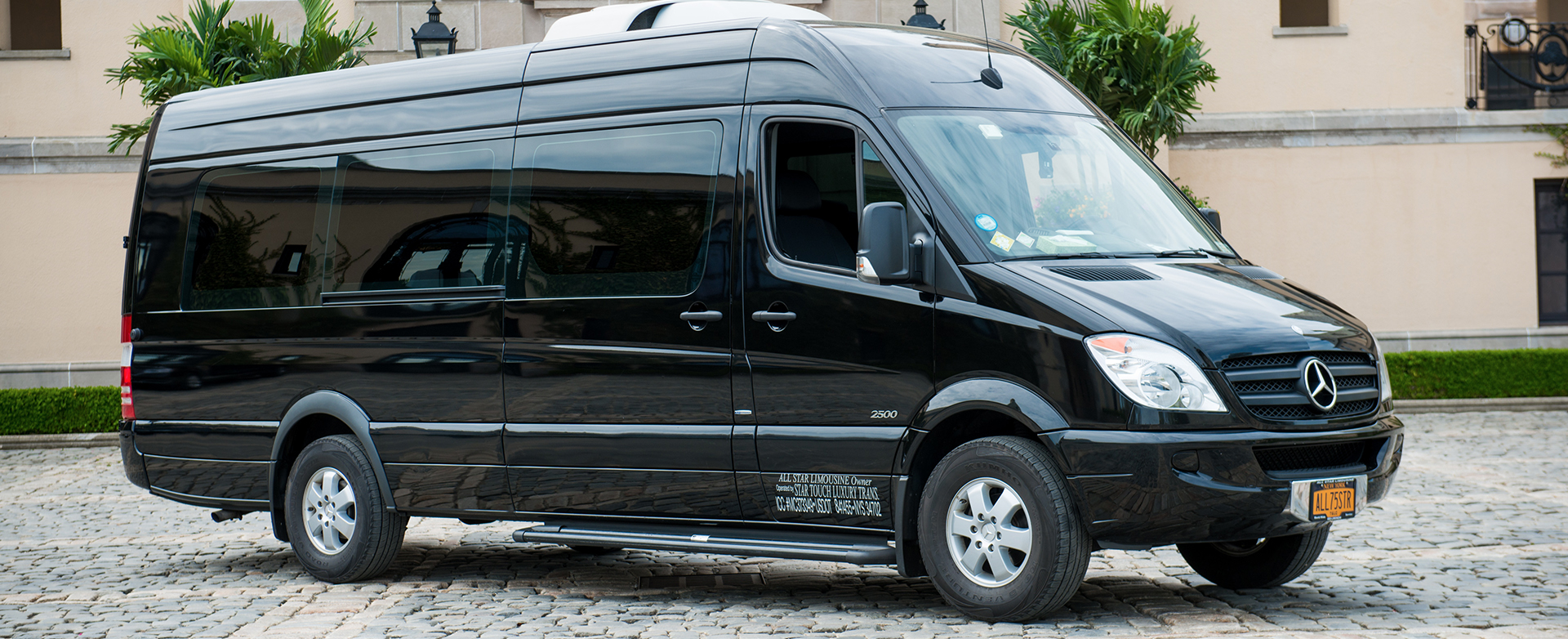 Mercedes benz sprinter bus on long island by all star for Mercedes benz corporate
