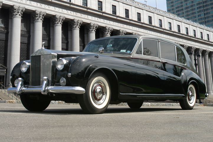 Classic Rolls Tudor Noir A Vintage Wedding Car By James Young