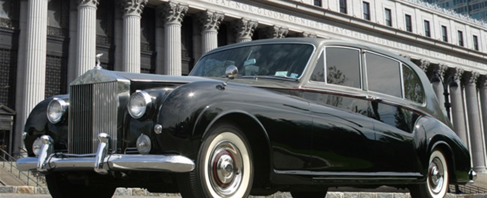 1962 Vintage Rolls Royce | James Young Edition Phantom V by All Star Limousine on Long Island